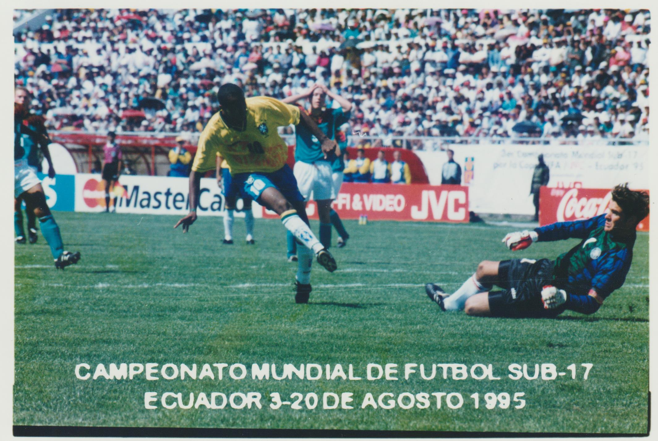 U17 WM Ecuador 1995 Brasilien