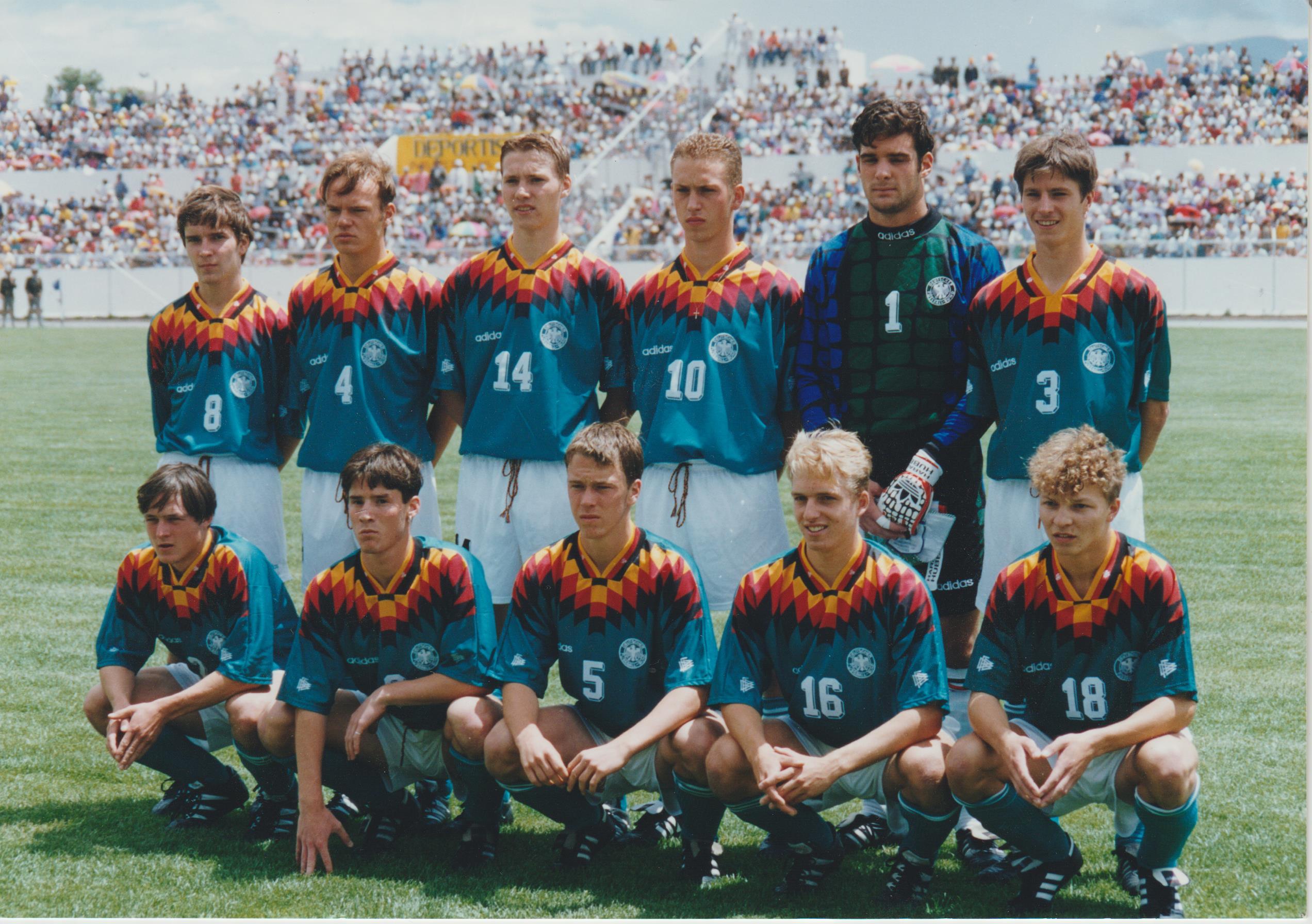 U17 WM Ecuador 1995 Team
